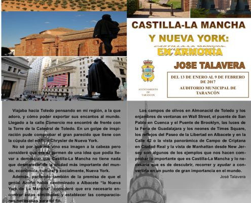 FOLLETO DE JOSE TALAVERA