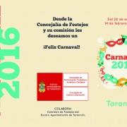 Triptico exterior Carnaval 2016
