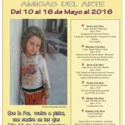 CARTEL AMIGAS DEL ARTE 2016
