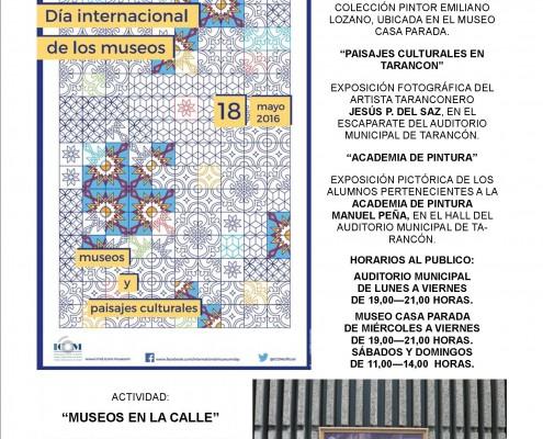 CARTEL MUSEOS 2016