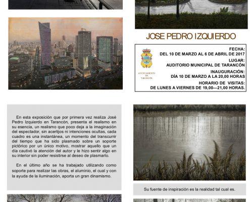 FOLLETO DE JOSE PEDRO IZQUIERDO
