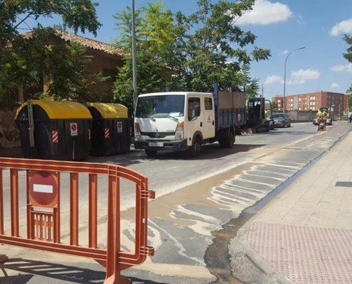 Corte calle General Emilio Villaescusa-ago17