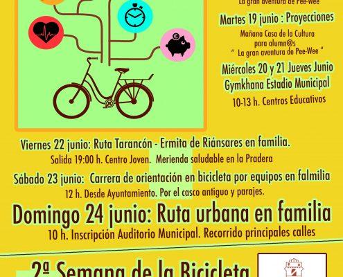 cartel 2ª semana bici