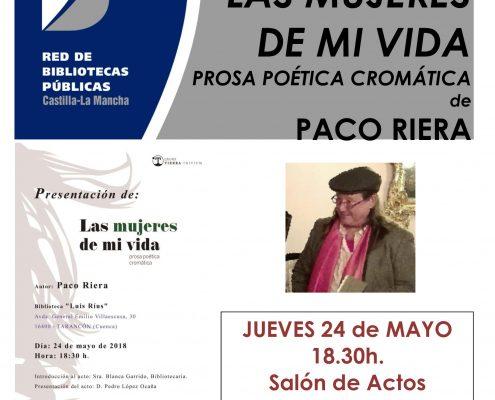 cartel PACO RIERA