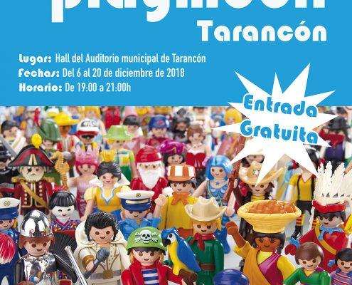 Cartel II exposición Playmobil tarancón