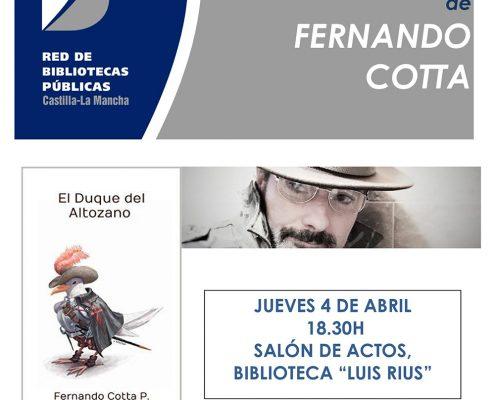 CARTEL FERNANDO COTTA