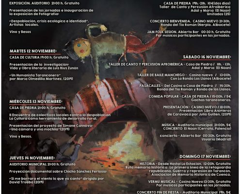 marquesina III Jornadas Musica Felix Collado AYTO TARANCON