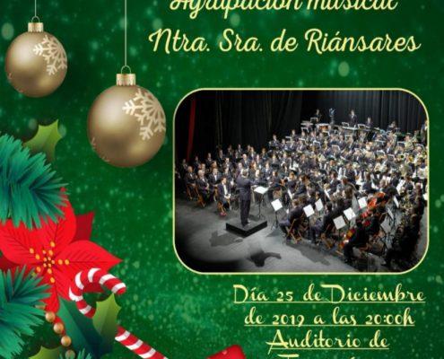 CONCIERTO NAVIDAD AGRUPACION MUSICAL DE TARANCÓN
