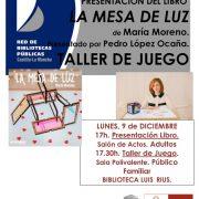 Mesa de Luz María Moreno