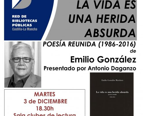 cartel EMILIO GONZALEZ