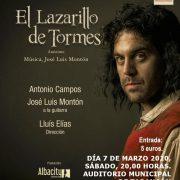 CARTEL LAZARILLO DE TORMES II