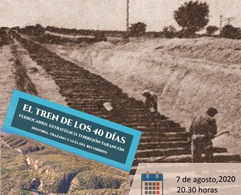 CARTEL PRESENTACION LIBRO TREN DE LOS 40 DIAS_TARANCON I